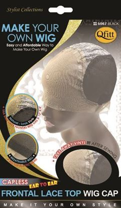 Picture of [CAPLESS] FRONTAL LACE TOP WIG CAP