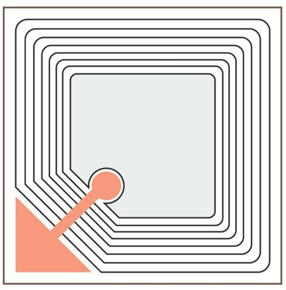 Picture of SECURITY SOFT TAG (3X3CM)