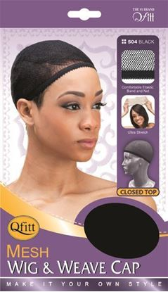 Picture of CLOSED TOP MESH WIG & WEAVE CAP