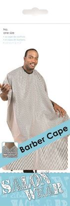 Picture of STRIPE BARBER CAPE