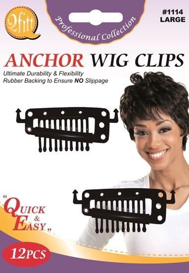 Picture of 12PCS BLISTER ANCHOR WIG CLIPS