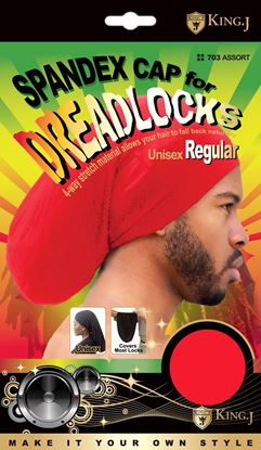 Picture of SPANDEX DREADLOCKS CAP REGULAR