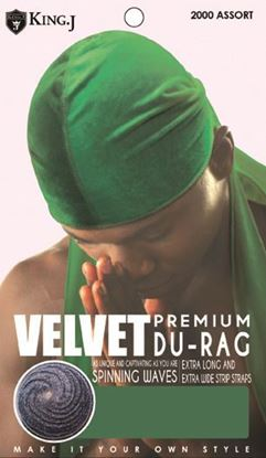 Picture of PREMIUM VELVET DU-RAG