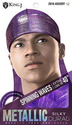 Picture of METALIC SILKY DURAG