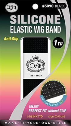 Picture of SILICONE ELASTIC WIG BAND