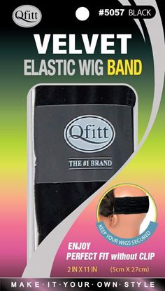 Picture of ELASTIC WIG BAND VELVET