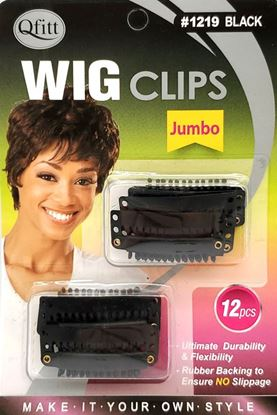 Picture of 12PCS WIG CLIPS (Jumbo)