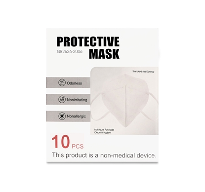 Picture of High Filtration Face Mask 10pcs - KN95