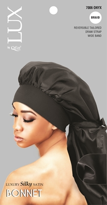 Picture of [SOLID] LUXURY SILKY SATIN BONNET - BRAID