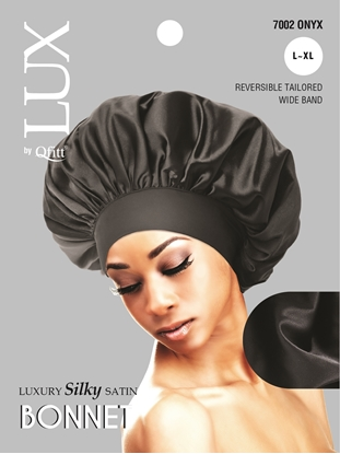 Picture of [SOLID] LUXURY SILKY SATIN BONNET - L/XL