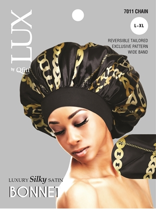 Picture of [PATTERN] LUXURY SILKY SATIN BONNET (AFRO) - L/XL