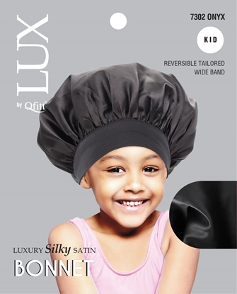 Picture of [SOLID] LUXURY SILKY SATIN BONNET - KID