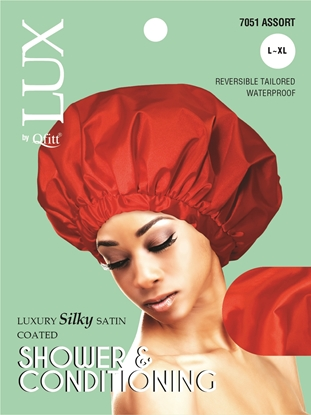 Picture of [SOLID] LUXURY SILKY SATIN COATED SHOWER & CONDITIONING - L/XL