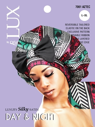 Picture of [PATTERN] LUXURY SILKY SATIN DAY & NIGHT (AFRO) - L/XL