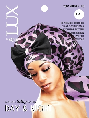 Picture of [PATTERN] LUXURY SILKY SATIN DAY & NIGHT (LEO) - L/XL