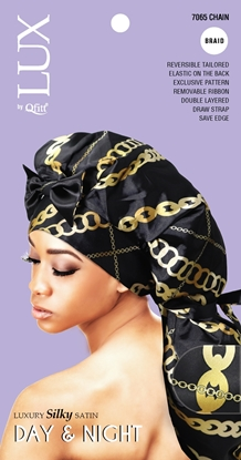 Picture of [PATTERN] LUXURY SILKY SATIN DAY & NIGHT (AFRO) - BRAID