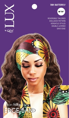 Picture of [PATTERN] LUXURY SILKY SATIN EDGE BAND (AFRO) - ONESIZE